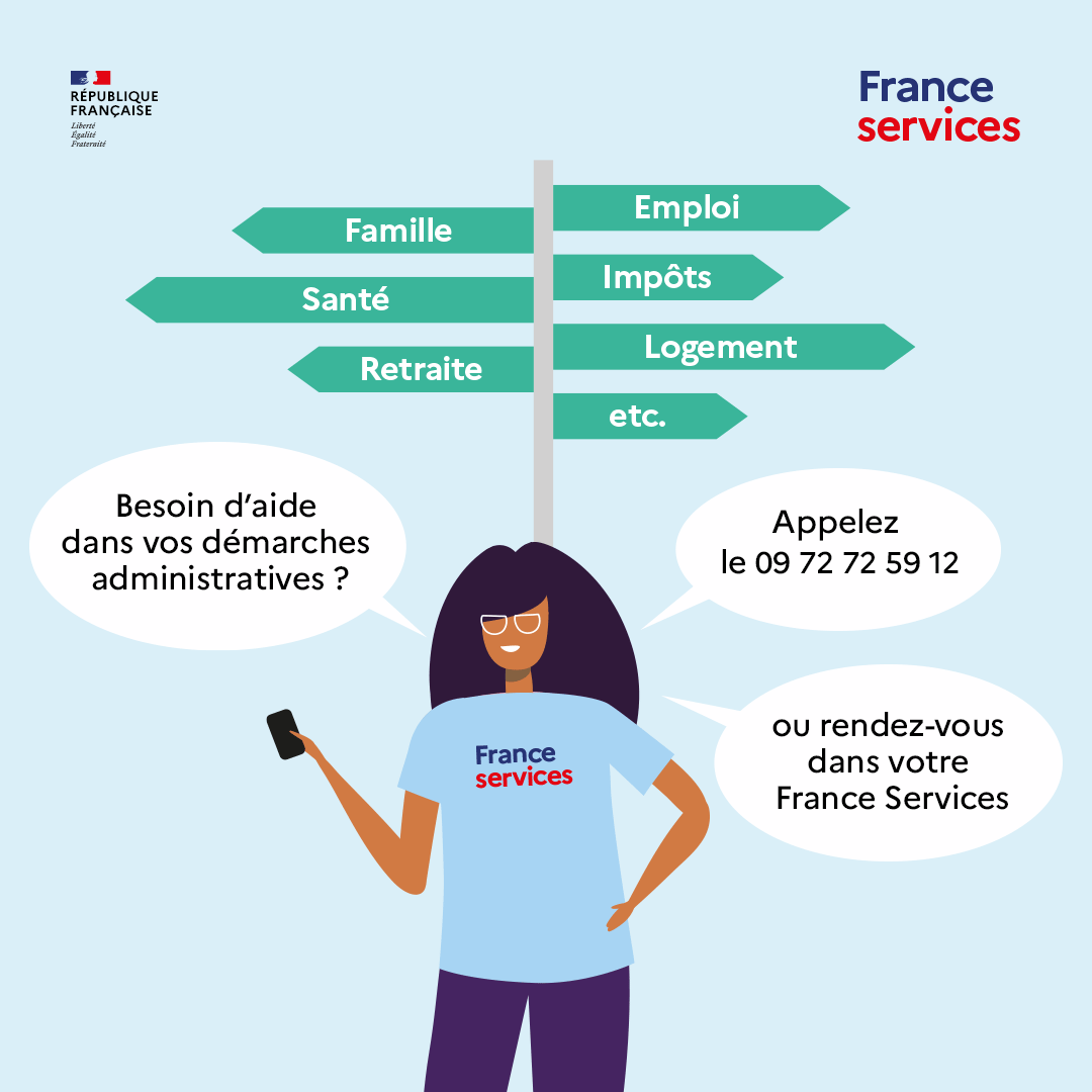 FRANCE SERVICES démarches administratives